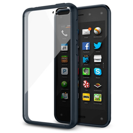 Spigen Ultra Hybrid Amazon Fire Phone Case - Metal Slate