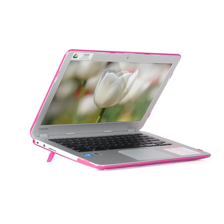 mCover Toshiba Chromebook 13.3 Hard Shell Cover - Pink