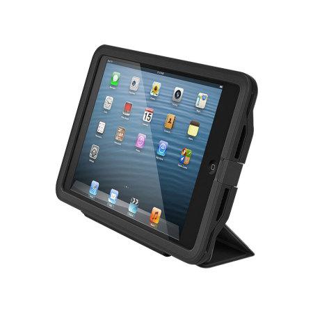 free shipping 02a45 eef1c LifeProof iPad Mini 3 / 2 / 1 Nuud Portfolio Cover Stand - Black