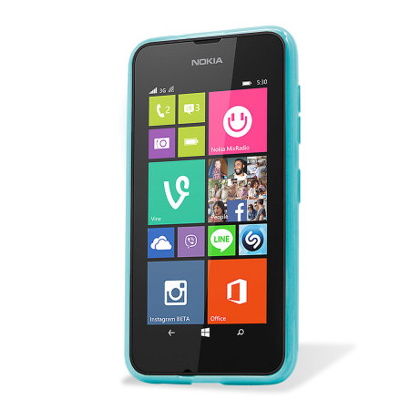 Flexishield Nokia Lumia 530 Gel Case - Blue