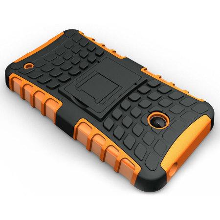 rating indicates encase armourdillo nokia lumia 630 635 protective case orange most chinese