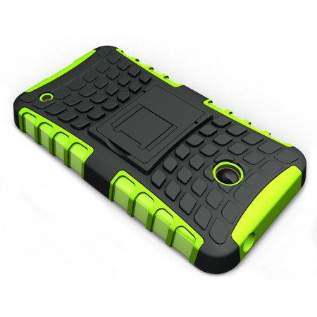 display encase armourdillo nokia lumia 630 635 protective case green there are few
