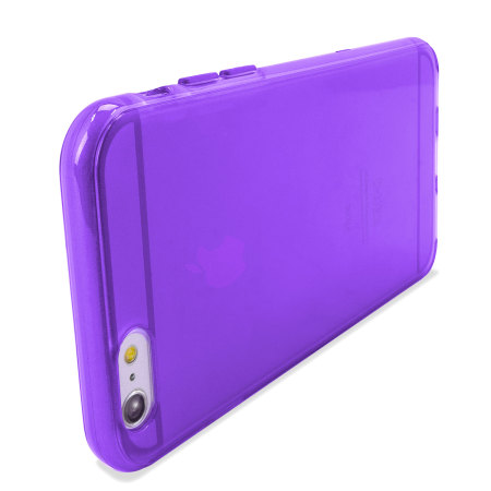 Encase FlexiShield iPhone 6 Plus Gel Case - Purple