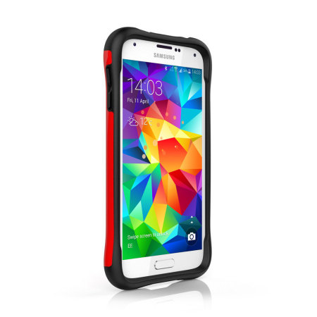 Ballistic Urbanite Samsung Galaxy S5 Case - Red/Black