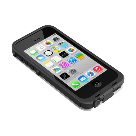 lifeproof iphone 5c case lifeproof fre iphone 5c black clear 3677