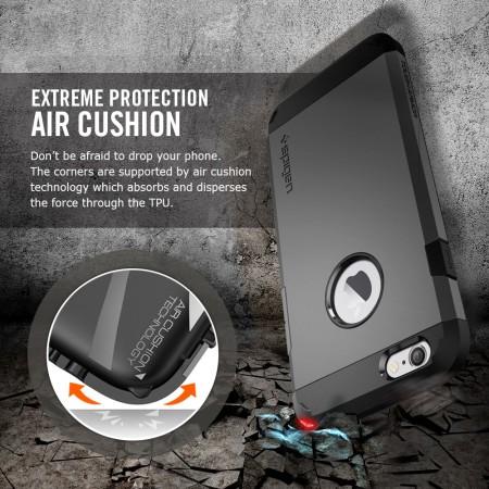 Funda iPhone 6S Spigen Tough Armor - Negra