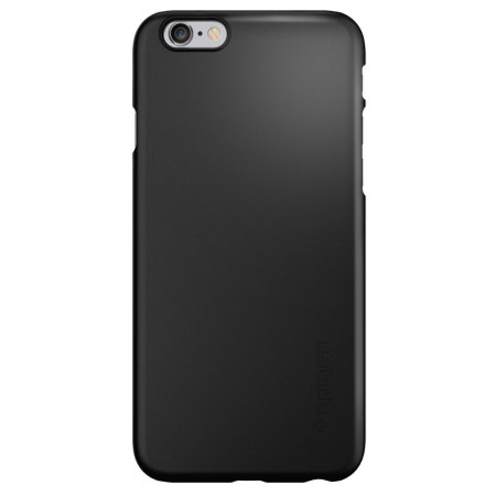 Spigen Thin Fit iPhone 6/6s Shell Case - Smooth Black