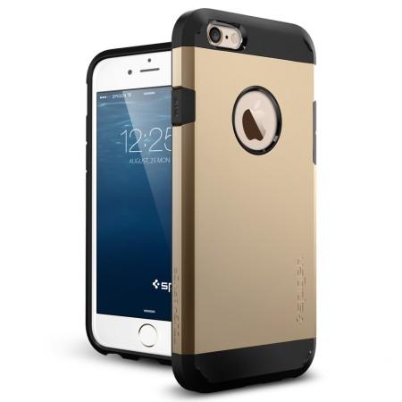 Spigen Tough Armor iPhone 6S / 6 Case - Champagne Gold