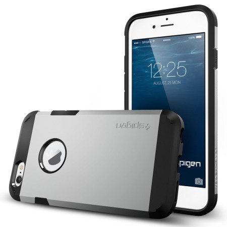 Spigen Tough Armor iPhone 6S / 6 Case - Satin Silver