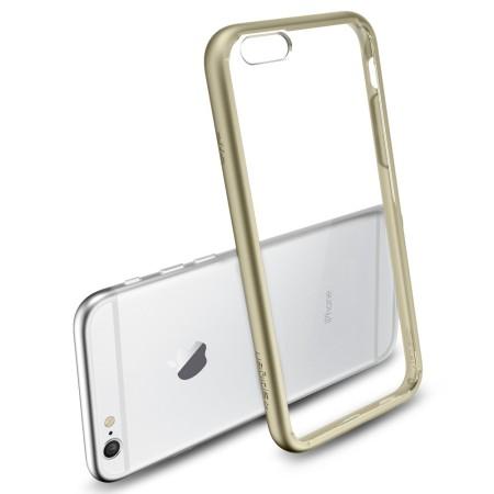 factory price 4a765 85090 Spigen Ultra Hybrid iPhone 6S / 6 Bumper Case - Champagne Gold