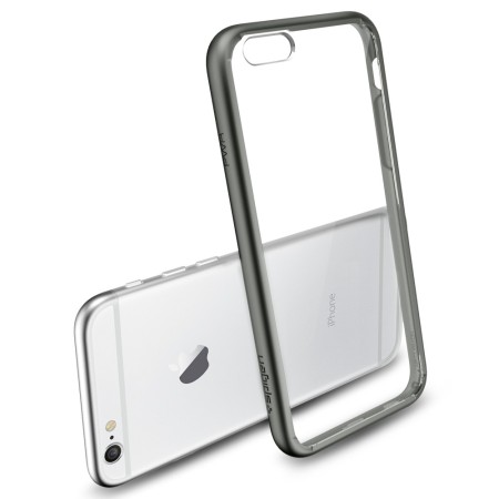 Spigen Ultra Hybrid iPhone 6S / 6  Bumper Case - Gunmetal
