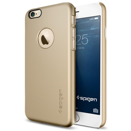 Spigen Thin Fit A iPhone 6S / 6 Shell Case - Champagne Gold