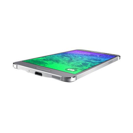 SIM Free Samsung Galaxy Alpha 32GB - Sleek Silver