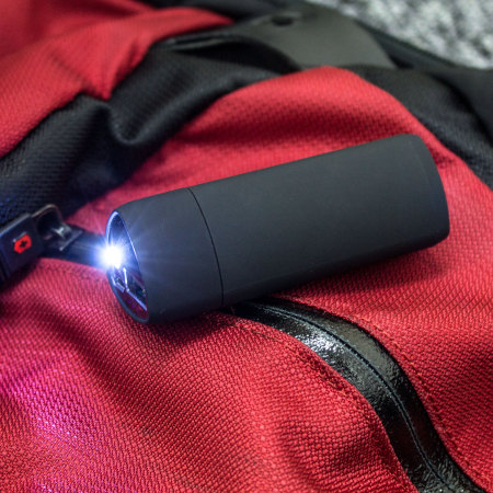 enCharge 2200mAh Power Bank with LED Torch - Black