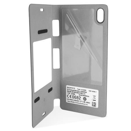 Housse Officielle Sony Xperia Z3 Style Cover – Noire