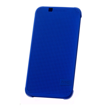 online store 7fbb4 8cca2 Official HTC Desire 510 Dot View Case - Imperial Blue