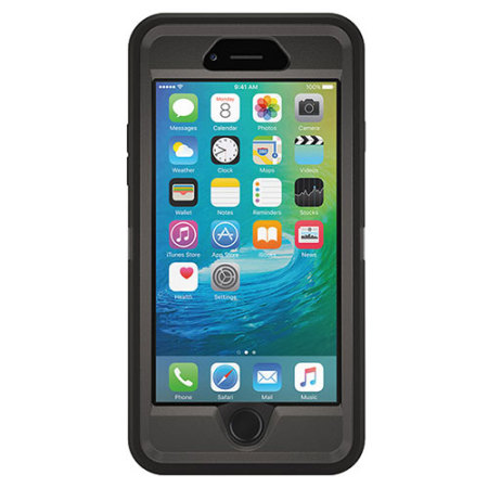 Otterbox defender series iphone 6s 6 case black