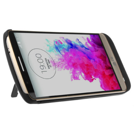 LG G3 Power Jacket Battery Case 3800mAh - Black
