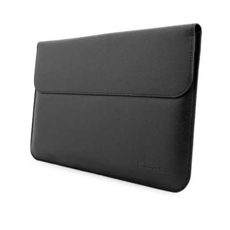 Snugg Leather-Style Wallet Microsoft Surface Pro 3 Pouch - Black