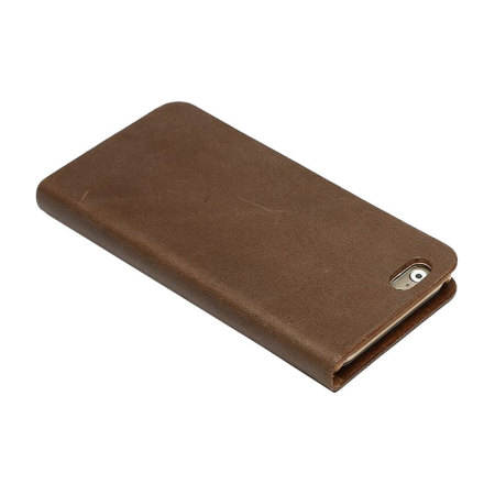 Zenus Tesoro iPhone 6S / 6 Leather Diary Case - Brown
