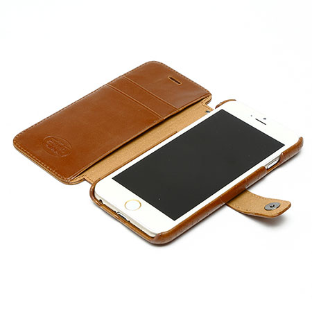 zenus lettering diary iphone 6s 6 case brown