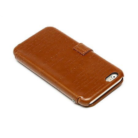 all zenus lettering diary iphone 6s 6 case brown them