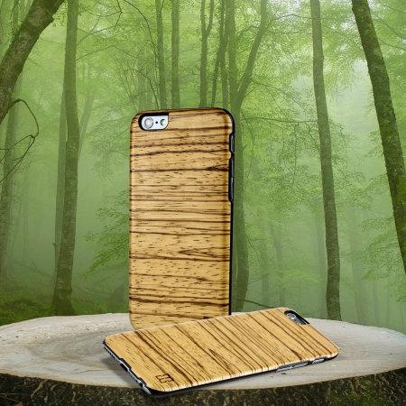 Man&Wood iPhone 6S / 6 Wooden Case - Zebrano
