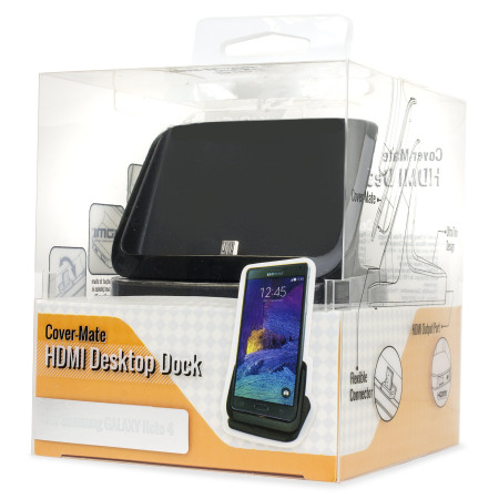 Samsung Galaxy Note 4 Case Compatible HDMI Charging Dock