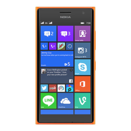Sim Free Nokia Lumia 735 Unlocked 8GB - Orange
