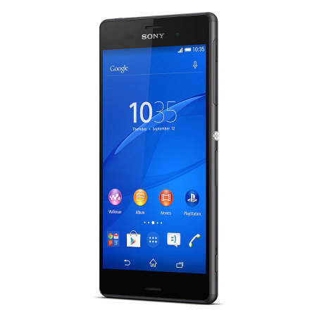 SIM Free Sony Xperia Z3 Unlocked 16GB - Black