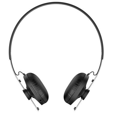sony stereo bluetooth headphones sbh60 black. Black Bedroom Furniture Sets. Home Design Ideas