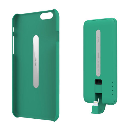 new style efe73 c84b8 Lepow PIE Magnetic iPhone 6 Battery Case 3,000mAh - Green