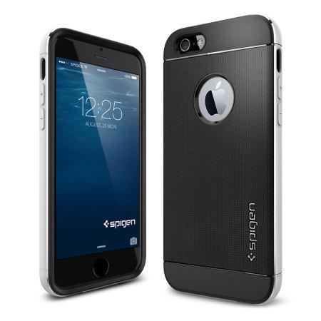 Coque iPhone 6S / 6 Spigen SGP Neo Hybrid Metal - Argent