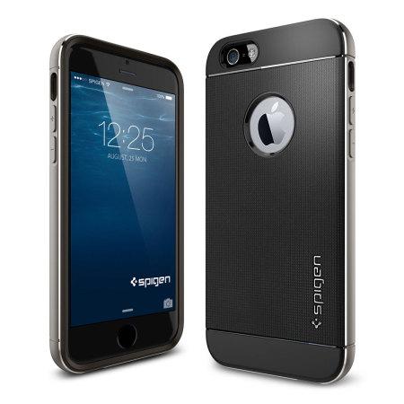 spigen neo hybrid metal iphone 6s 6 case space grey. Black Bedroom Furniture Sets. Home Design Ideas