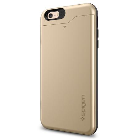 cheaper cfd64 6cef0 Spigen Slim Armor CS iPhone 6S Plus / 6 Plus Case - Champagne Gold