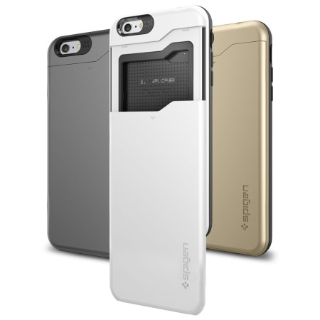 spigen iphone 6 case card holder