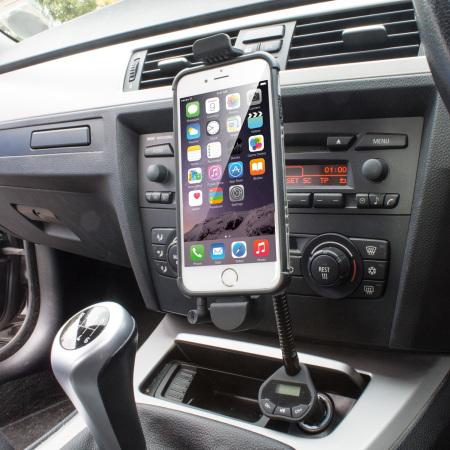 7d220e508572ba RoadWarrior iPhone 6 / 6 Plus Car Holder, Charger & FM Transmitter