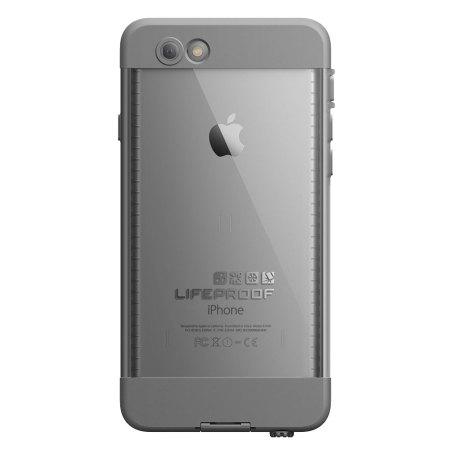 LifeProof Nuud iPhone 6 Plus Case - White / Grey