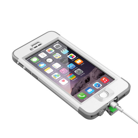 View larger image of lifeproof nuud iphone 6 plus case white grey