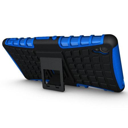 Olixar ArmourDillo Sony Xperia Z3 Protective Case - Blue