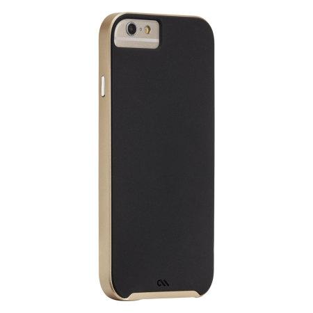 best cheap 6e606 bac55 Case-Mate Slim Tough iPhone 6 Case - Black / Gold