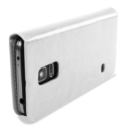 Encase Leather-Style Samsung Galaxy S5 Mini Wallet Case - White
