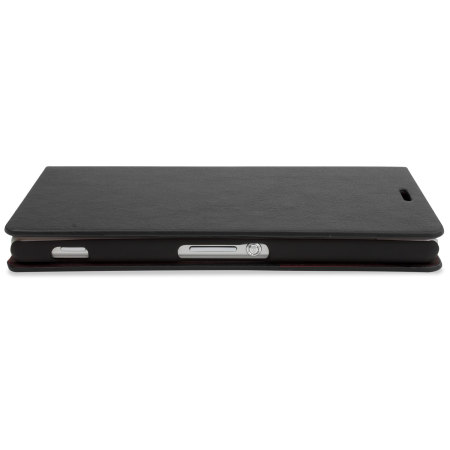 Encase Leather-Style Sony Xperia Z3 Wallet Case - Black
