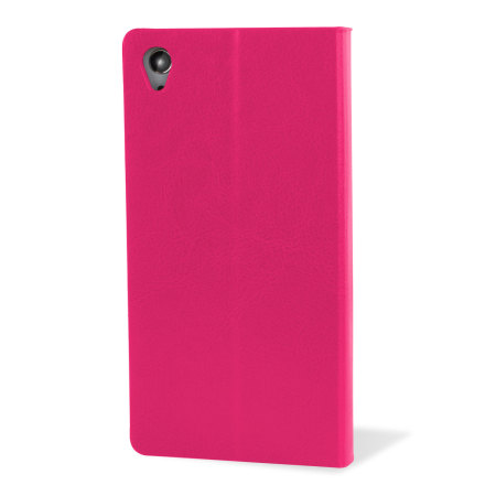 Encase Leather-Style Sony Xperia Z3 Wallet Case - Pink