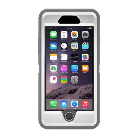 newest f7669 e9c25 OtterBox Defender Series iPhone 6S Plus / 6 Plus Case - Glacier