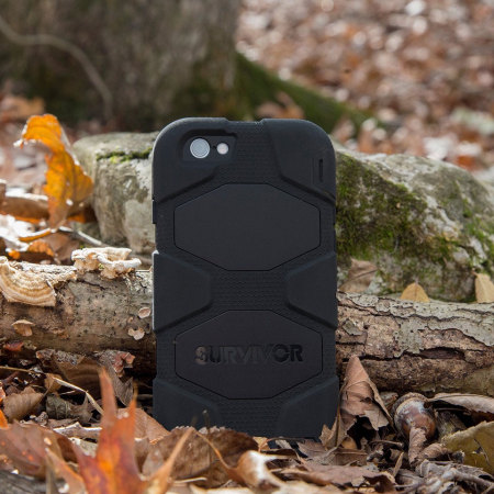 Griffin Survivor iPhone 6S / 6 All -Terrain Case - Black