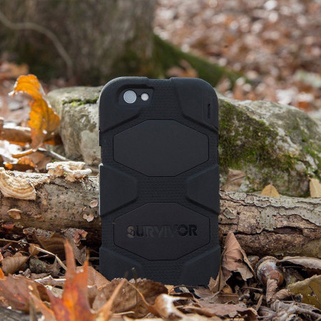 Griffin Survivor iPhone 6S Plus / 6 Plus All-Terrain Case - Black