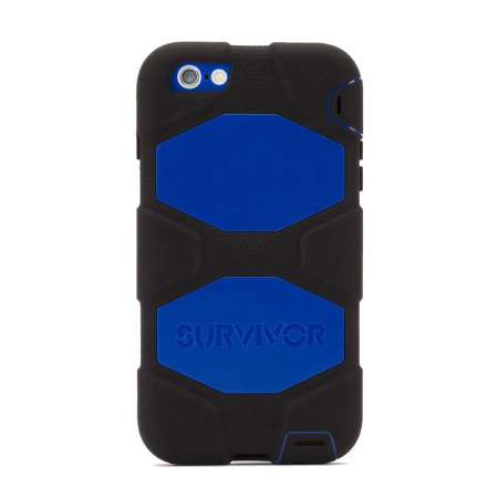 griffin survivor iphone 6s plus 6 plus all terrain case black