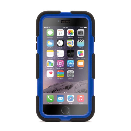Griffin Survivor iPhone 6S Plus / 6 Plus All-Terrain Case - Black/Blue