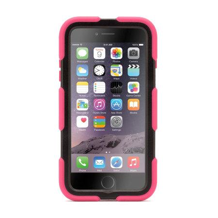 Griffin Survivor iPhone 6S Plus / 6 Plus All-Terrain Case - Pink/Black
